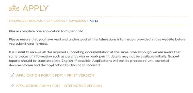 泰国留学申请需要准备哪些申请材料?